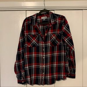 Flannel button up // XL